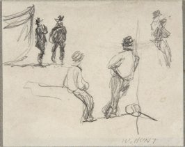 Untitled sketch (Men Standing)