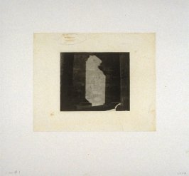 Working proof 7 for Photogravure 1 from the portfolio, Temple Ruins