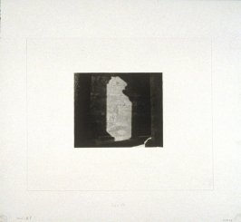 Working proof 6 for Photogravure 1 from the portfolio, Temple Ruins