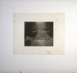 Working proof 5 for Photogravure 3 from the portfolio, Temple Ruins