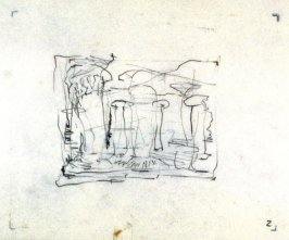 Drawing for Temple Ruins