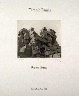 Title page in the portfolio, Temple Ruins