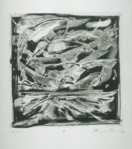 II, plate 2 from the portfolio Five Nights (San Francisco: Crown Point Press, 1988)