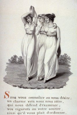 Untitled (three young women), page 505 of the book, Mon passe-tems dédié à moi-même , vol.2