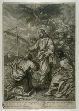 Christ Giving the Custody of his Herds to Saint Peter, plate 30 from The Passion of Christ