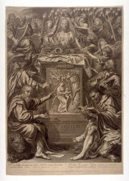 Title page from The Passion of Christ