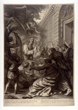 Christ's Entrance into Jerusalem, plate 2 from The Passion of Christ