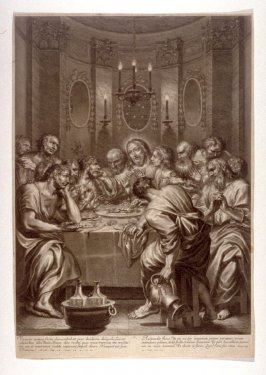 The Last Supper, plate 5 from The Passion of Christ