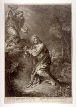 Christ in the Garden, plate 7 from The Passion of Christ
