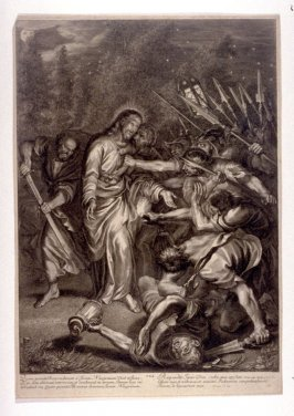 Christ Taken Prisoner in the Garden, plate 8 from The Passion of Christ