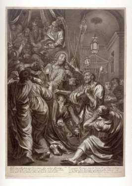 The Denial of Peter, plate 9 from The Passion of Christ