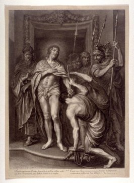 Christ Before the People, plate 15 from The Passion of Christ