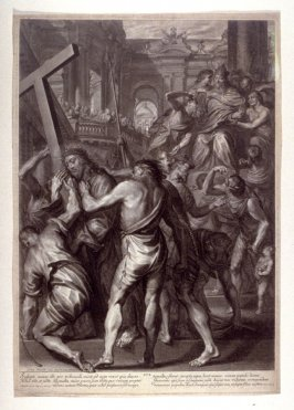 Christ is Sentenced by Pilate, plate 16 from The Passion of Christ