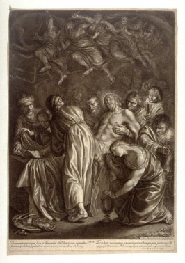 The Entombment, plate 23 from The Passion of Christ