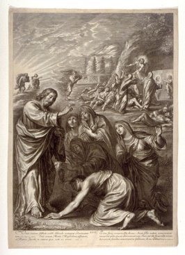 The Holy Women at Christ's Tomb, plate 26 from The Passion of Christ