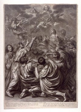 The Ascension of Christ, plate 31 from The Passion of Christ