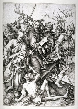 Christ taken before Annas by the Jews