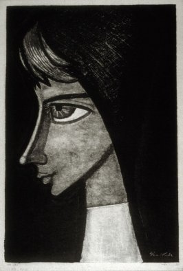 Untitled (profile of a girl)
