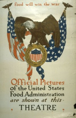 Food Will Win the War - World War I Poster