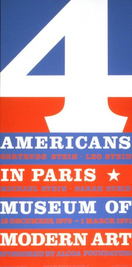 Americans in Paris / Museum of Modern Art 19 December 1970- 1 March 1971