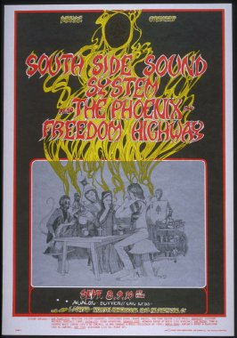 """""""The Tea Party,"""" South Side Sound System, Phoenix,  Freedom Highway, September 8 - 10, Avalon Ballroom"""