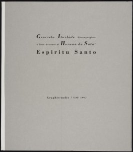 Portfolio A True Account of Hernan de Soro Epspiritu Santo