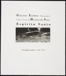 Galgo from the portfolio A True Account of Hernan de Soto Espiritu Santo