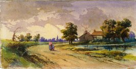 Landscape( A Country Lane)