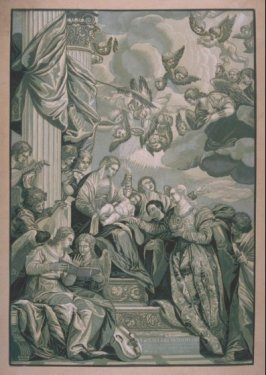 Mystic Marriage of St Catherine, from the series 'Opera selectiora'