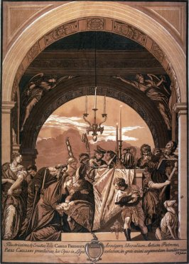 The Presentation in the Temple, after Veronese
