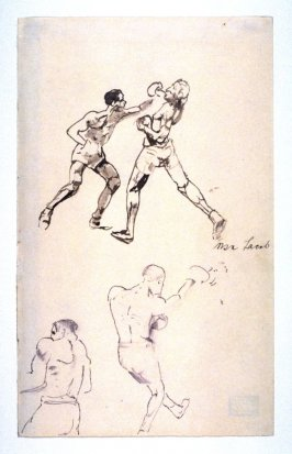Study of Boxers: Study with three full figures