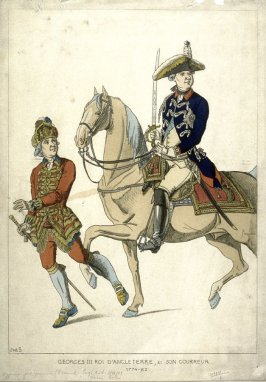 George III King of England, & his Runner