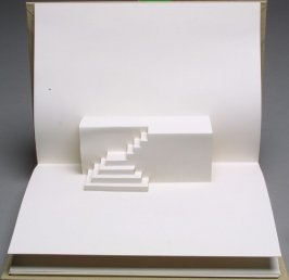 Untitled second image in the book Stairs by Rein Jansma and Joost Elffers (Joost Elffers Books: 1982, republished Hong Kong: Stewart, Tabori and Chang, 1999)