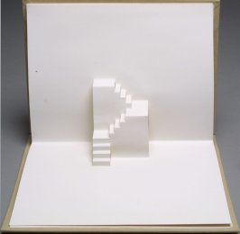 Untitled eighth image in the book Stairs by Rein Jansma and Joost Elffers (Joost Elffers Books: 1982, republished Hong Kong: Stewart, Tabori and Chang, 1999)