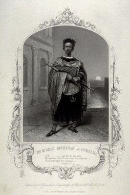 Mr. M'Kean Buchanan as Othello.