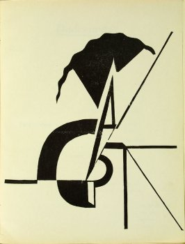 Untitled, illustration 3, in the book Bezette Stad by Paul van Ostayen (Antwerpen: Uitgave van het Sienjall, 1921)
