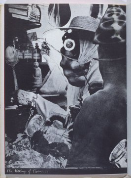 The Killing of vision, fifth image in the book The Better Dream House (White Rabbit Press, 1968)