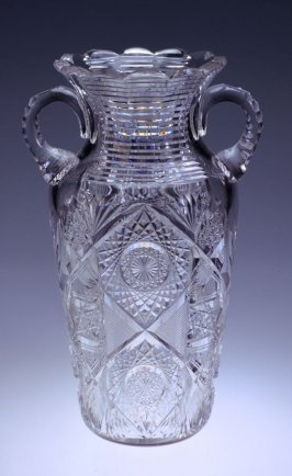Double-handled vase