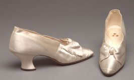 Woman's wedding shoes