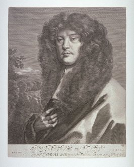Portrait of Sir Peter Lely