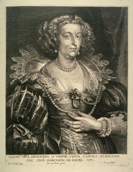 Geneviève d' Urfé, from The Iconography