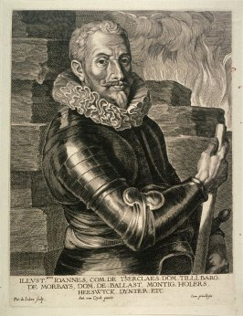 Jean T'Serclaes, Count of Tilly, from The Iconography