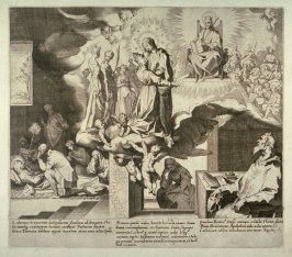Scenes 31-33 from the life of St. Catherine of Siena