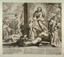Scenes 25-27 from the life of St. Catherine of Siena