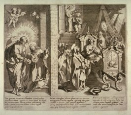 Scenes 16-18 from the life of St. Catherine of Siena