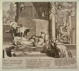 Scenes 19-21 from the life of St. Catherine of Siena