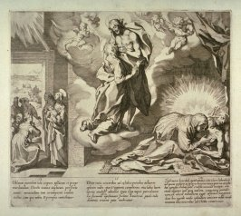 Scenes 13-15 from the life of St. Catherine of Siena