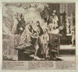 Scenes 7-9 from the life of St. Catherine of Siena