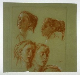 Four Studies of a Fishergirl of Equihen
