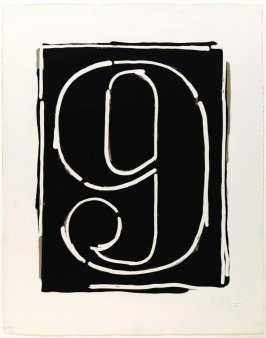 Figure 9, from the Black Numeral Series